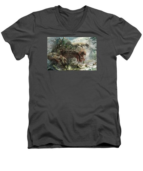 Tarmogoyf Reprint Men's V-Neck T-Shirt