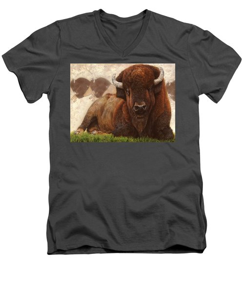 Tatanka Men's V-Neck T-Shirt