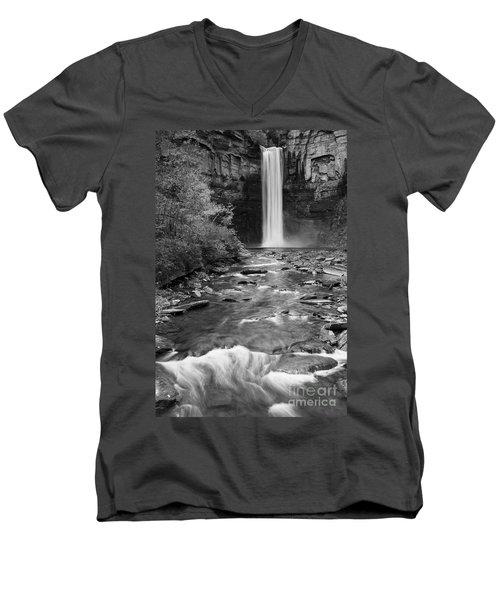 Taughannock Monochrome I Men's V-Neck T-Shirt