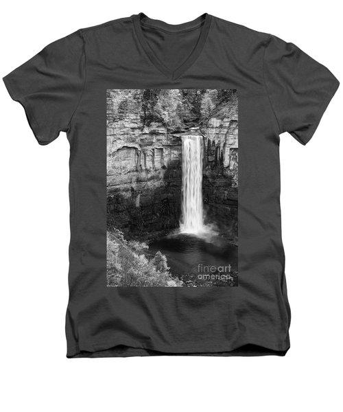 Taughannock Monochrome II Men's V-Neck T-Shirt