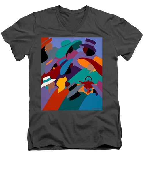 Tea And Conversations Men's V-Neck T-Shirt