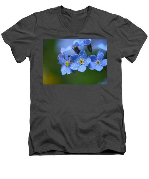 Tearful Goodbye Men's V-Neck T-Shirt
