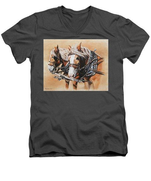 Ted And Tom Men's V-Neck T-Shirt