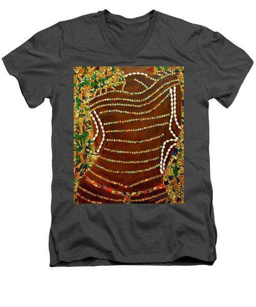 Temple Of The Goddess Eye Vol 2 Men's V-Neck T-Shirt