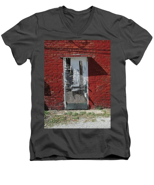 Temporary Men's V-Neck T-Shirt