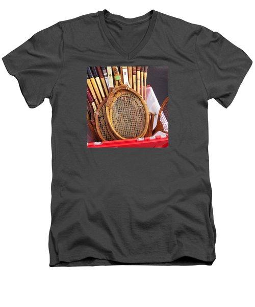 Tennis Anyone Men's V-Neck T-Shirt