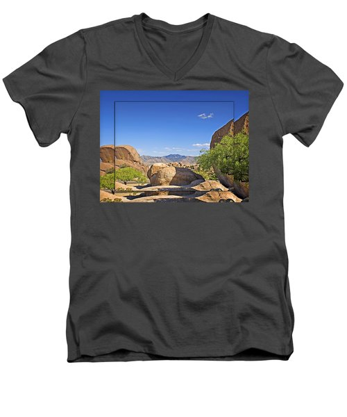 Texas Canyon 2 Men's V-Neck T-Shirt