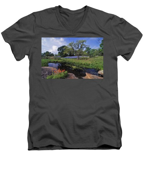 Texas Hill Country - Fs000056 Men's V-Neck T-Shirt