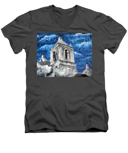 Mission San Jose Men's V-Neck T-Shirt