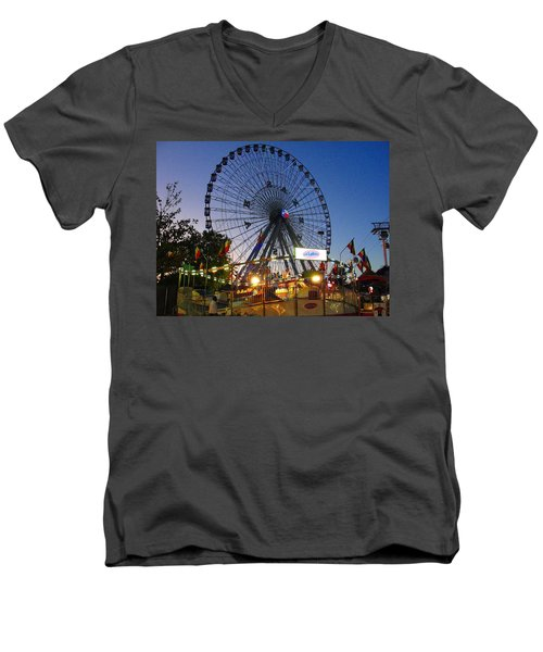 Texas State Fair Men's V-Neck T-Shirt
