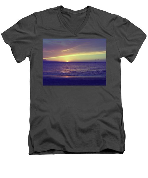 That Peaceful Feeling Men's V-Neck T-Shirt