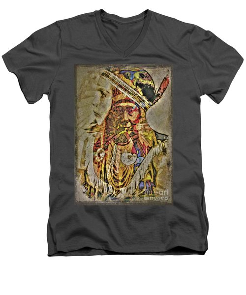 The American Spirit Men's V-Neck T-Shirt