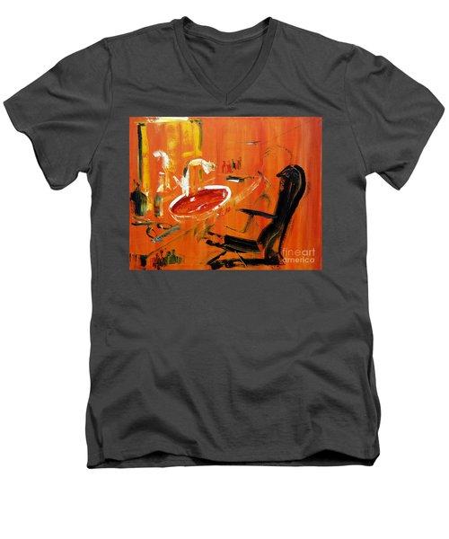 The Barbers Shop - 3 Men's V-Neck T-Shirt