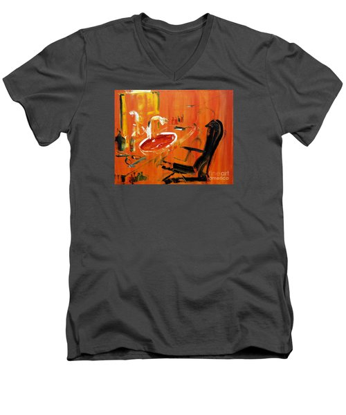 The Barbers Shop - 3 Men's V-Neck T-Shirt