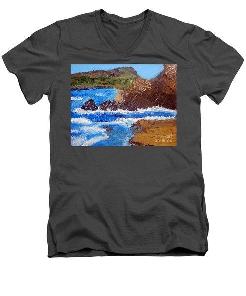 The Beauty Of Nature  Men's V-Neck T-Shirt
