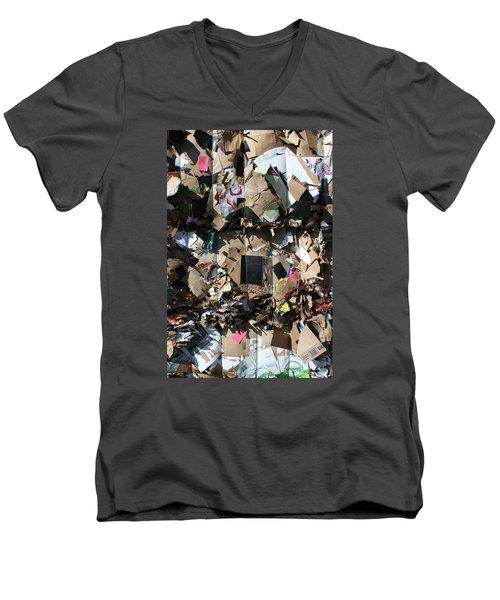 The Beauty Of Recycling Men's V-Neck T-Shirt