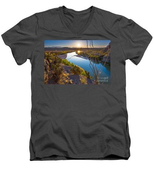 The Big Bend Men's V-Neck T-Shirt