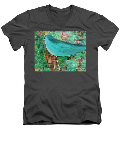 The Bird - 23a1c2 Men's V-Neck T-Shirt by Variance Collections