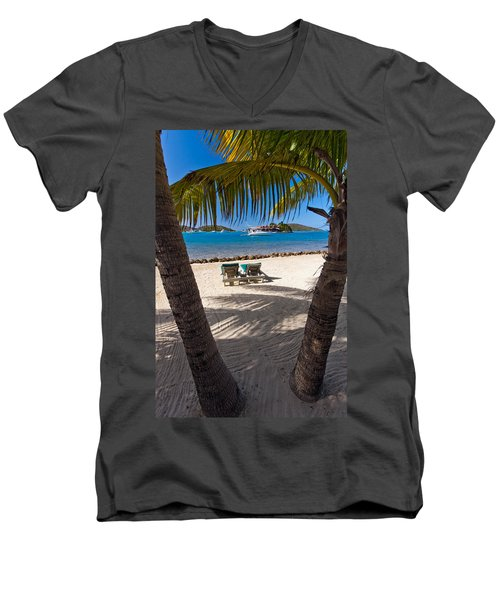 The Bitter End Men's V-Neck T-Shirt