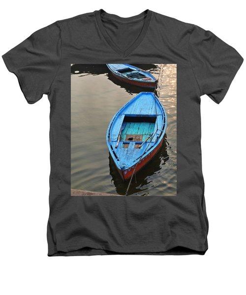 The Blue Boat Men's V-Neck T-Shirt