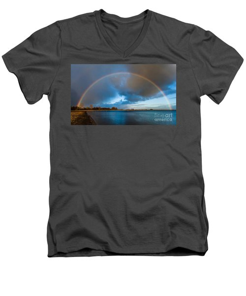 The Bridge Across Forever Men's V-Neck T-Shirt