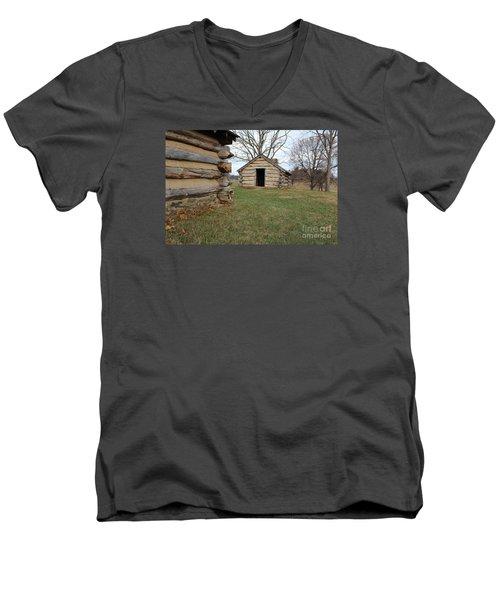 The Cabins Men's V-Neck T-Shirt
