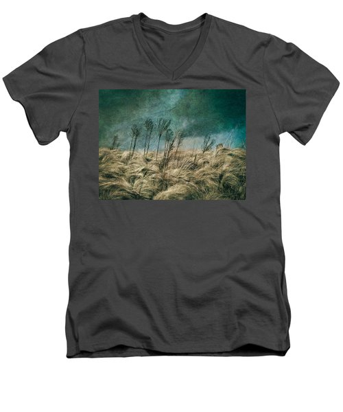 The Calm In The Storm II Men's V-Neck T-Shirt