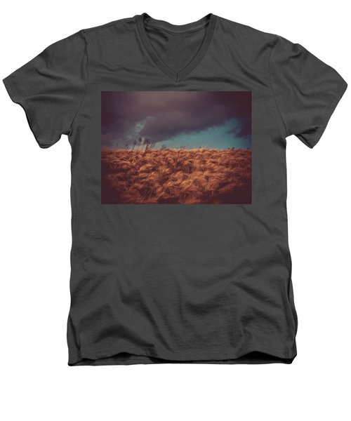 The Calm In The Storm Men's V-Neck T-Shirt