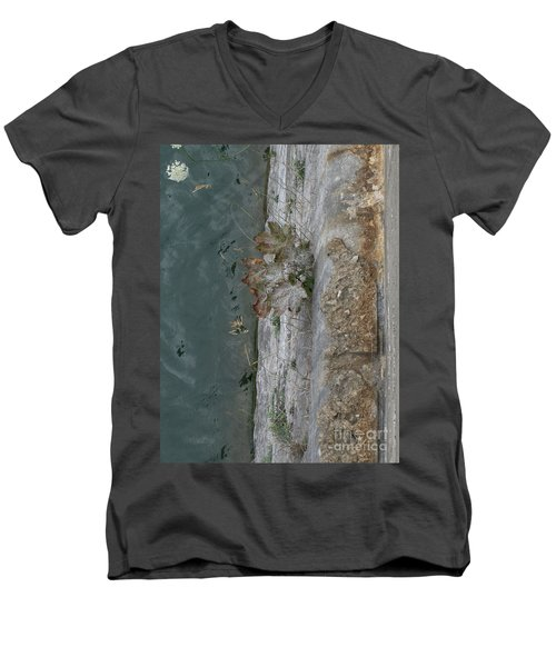 The Canal Water Men's V-Neck T-Shirt