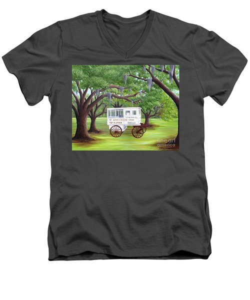 The Candy Cart Men's V-Neck T-Shirt