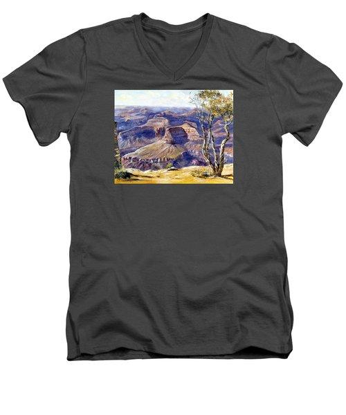 The Canyon Men's V-Neck T-Shirt