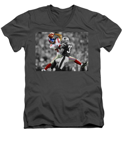 The Catch Men's V-Neck T-Shirt by Brian Reaves