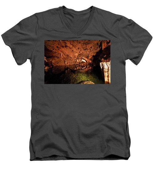 The Cave Men's V-Neck T-Shirt