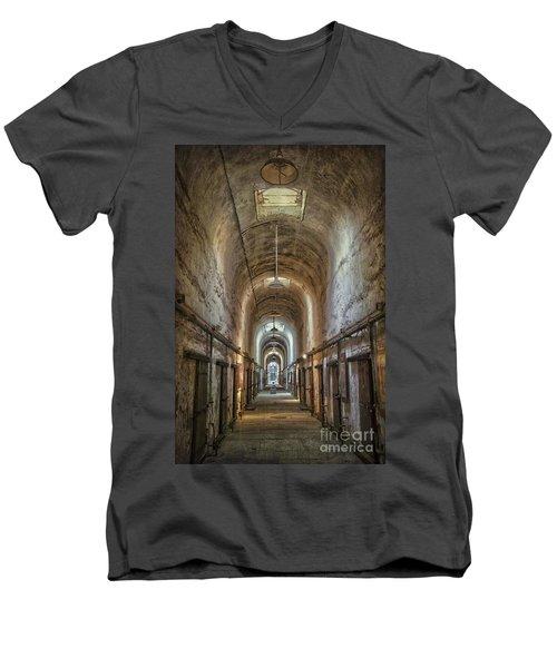 The Cell Block Men's V-Neck T-Shirt