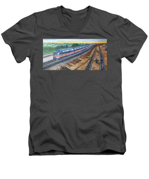 The City Of New Orleans Men's V-Neck T-Shirt