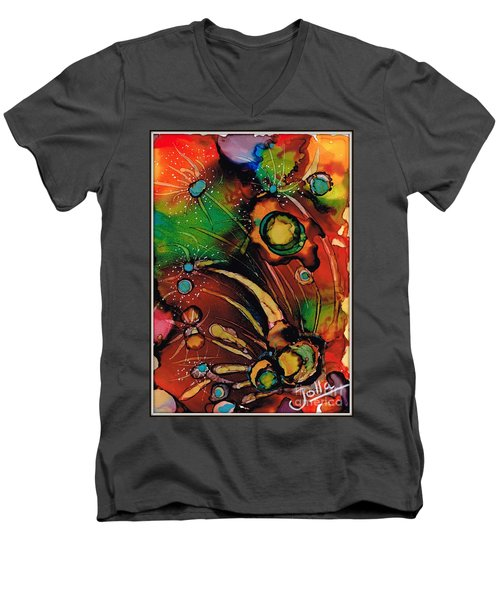 The Colours Of My Mind.. Men's V-Neck T-Shirt