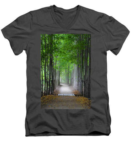 The Corridor Men's V-Neck T-Shirt