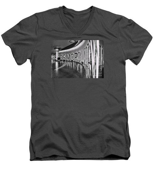 The Cosmopolitan Hotel Las Vegas By Diana Sainz Men's V-Neck T-Shirt