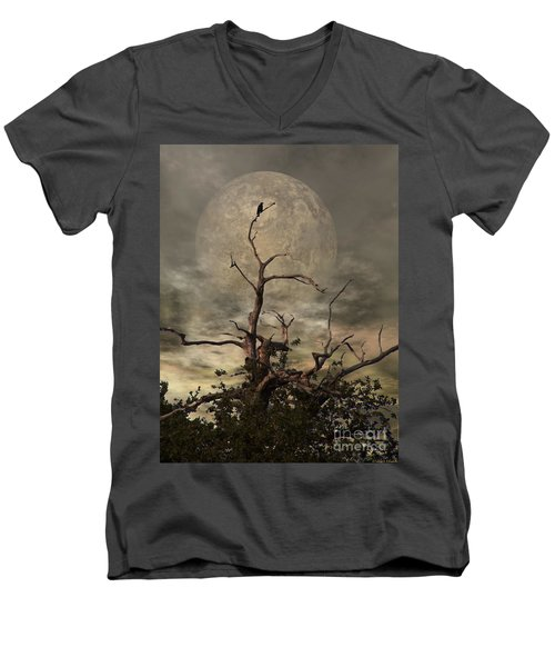 The Crow Tree Men's V-Neck T-Shirt