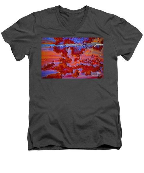 The Darkside #3 Men's V-Neck T-Shirt