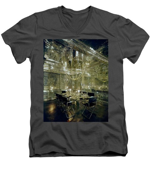 The Dining Room Of Ara Gallant's Apartment Men's V-Neck T-Shirt