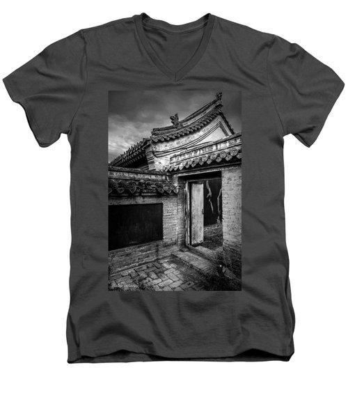 The Doorway  Men's V-Neck T-Shirt by Andrew Matwijec