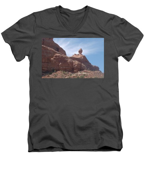 The Dragon Rider Men's V-Neck T-Shirt