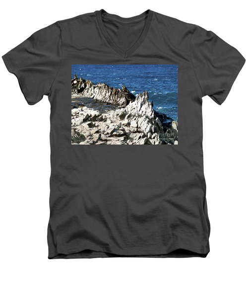 The Dragons Teeth I Men's V-Neck T-Shirt