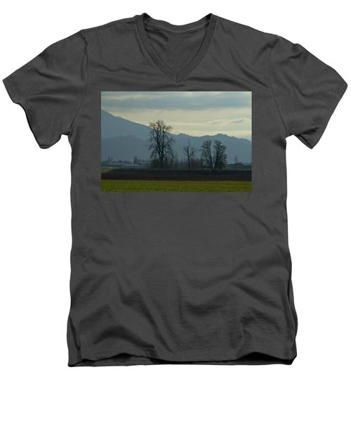 Men's V-Neck T-Shirt featuring the photograph The Eagle Tree by Eti Reid