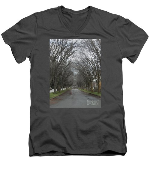 The Elm Arch Men's V-Neck T-Shirt