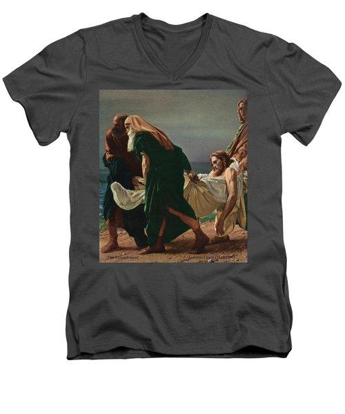 The Entombment Men's V-Neck T-Shirt