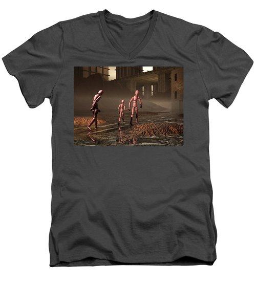 The Exiles Sojourn Men's V-Neck T-Shirt