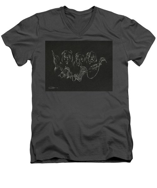 The Fates Men's V-Neck T-Shirt by Michele Myers