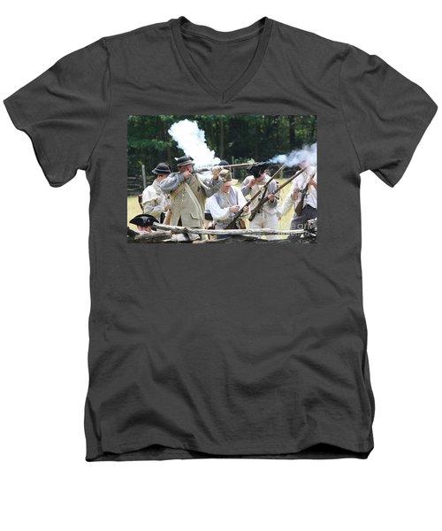 The Fight For Freedom Men's V-Neck T-Shirt